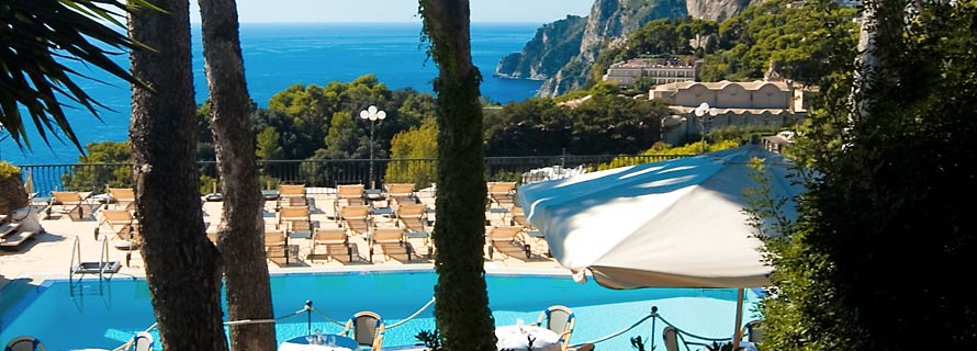 Scalinatella Capri - Panoramic Pool