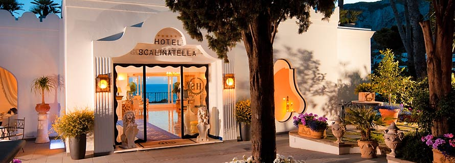 Scalinatella Hotel - Entrance